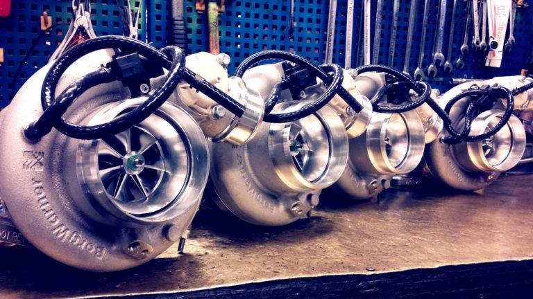 EFR Borgwarner turbochargers